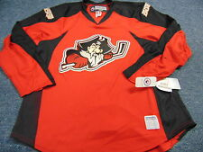 TEAM ISSUED REEBOK AHL PORTLAND PIRATES AUTHENTIC RED JERSEY SIZE 54
