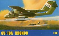 OV-10 A BRONCO (VIETNAM WAR - U.S. ARMY MARKIERUNG) 1/48 GOMIX RARITÄT !!!