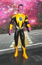 DC DIRECT COLLECTIBLES GREEN LANTERN SERIES 3 YELLOW SINESTRO FIGURE