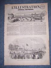 L'ILLUSTRATION 455 DU 15/11/1851 MUSEE VOITURES DE VERSAILLES VOIE APPIENNE 1851