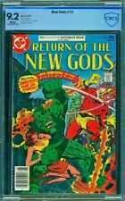 NEW GODS 13 CBCS 9.2 Darkseid Orion 1977 Milgrom CGC