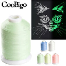 1000 Yards Luminous Glow In The Dark Thread DIY Embroidery Sewing Thread