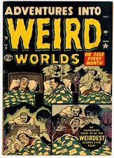 Adventures Into Weird Worlds #8 VG/F 5.0 (July 1952, Atlas) Bill Everett cvr PCH