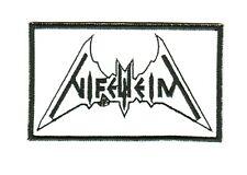 Nifelheim embroidered patch sew on logo Black Metal thrash astral threads