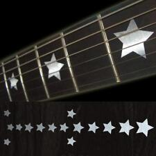 Star Metallic Guitar Fret board Markers Inlay stickers