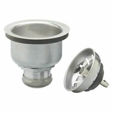 Plumb Pak Pp5413 Power Ball Lock Kitchen Basket Strainer With Locking Shell,
