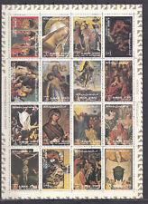 Ajman State 1973 - Sheet - The Life of Jesus Christ