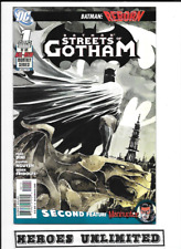 BATMAN-STREETS-OF-GOTHAM-1-21-DC-DAMIAN-HUSH-NGUYEN-0217316-FULL-SET-OF-21     B