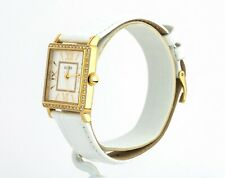 Guess Watch Women's White and Gold Tone Watch U0829L13, New