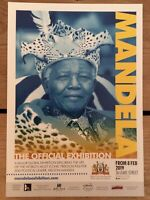 Mandela the official exhibition flyer London would look great framed