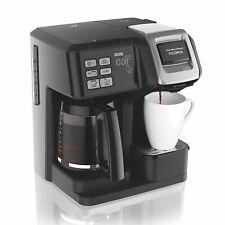 Hamilton Beach 49976 FlexBrew 2-Way Brewer Programmable Coffee Maker - Black
