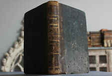 Antique Rare Old Book French Estate Religion Conferences Notre Dame 1847 Scarce