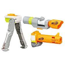Nerf modulus long range upgrade kit inc distance scope & long barrel, multicolor