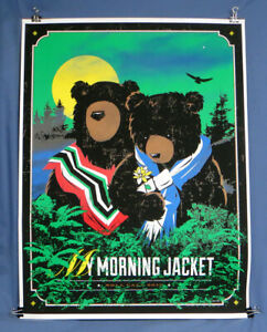 Rare My Morning Jacket 2012 Roll Call Bears Tour Poster EXC!