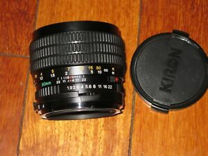 Mamiya Sekor C 80mm f/1.9 N for M645