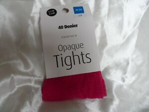Evans 40 denier Opaque tights size 28-32 TV / CD for aspiring ballerinas