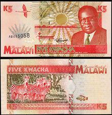 Malawi 5 Kwacha 1995, UNC, P-30