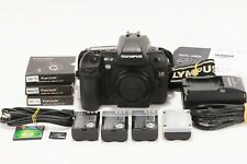 Olympus E-3 Four Thirds Digital Slr Camera Body + Accessories - Tested - 581