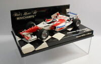 MINICHAMPS F1 1/43 Scale - 400 040116 PANASONIC TOYOTA RACING TF104 R.ZONTA