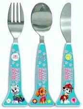 Paw Patrol Children's Cutlery Set - Girls Spoon, Fork & Knife