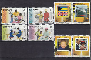 Bahamas 1994  SG995 - 998 + 999 - 1002 MNH Lovely Condition