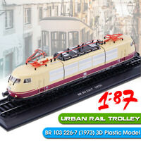 1:87 Urban Rail Trolley BR 103 226-7 (1973) Train 3D Spur H0 Modello Locomotive