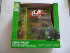 "RARE BRAND NEW IN BOX ""ANIMAL PLANET WILDLIFE ADVENTURE"" PLAYSET TOYS""R""US"