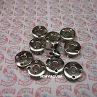 10 Metal Bobbins (GENUINE) Singer 401, 401A, 404, 500, 500A ,503, 503A, 247,