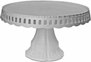 White Plastic Cake Stand Traditional Desserts Plate Display Muffin Cupcake Rack