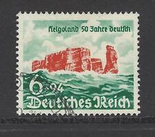 NAZI GERMANY # B176 Used  HELIGOLAND, 50TH ANNIVERSARY