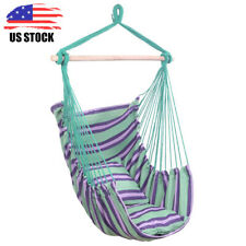 Hammock Rope Chair Patio Porch Yard Tree Hanging Air Swing Chair Indoor Outdoor