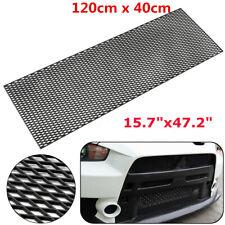 Black ABS Plastic Racing Honeycomb Mesh Car Tuning Grill Bumper Vent 40x120cm