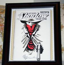 Shadow Year One #5 1:50 Hand Sketched Var in Frame