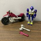 HASBRO 1989 - VINTAGE  TRANSFORMERS G1 - ACTION MASTER AXER - WITH OFFROAD CYCLE