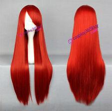 Fairy Tail Erza Scarlet cosplay wig Shakugan No Syana shana wig long red wig