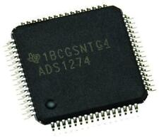 1 x TI ADS1274IPAPT 24 bit ADC 8-channel Single Ended or 4 Diff SPI 64-Pin HTQFP