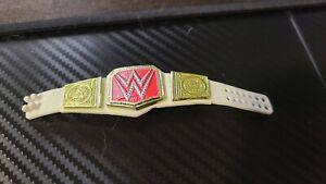 WWE Raw Women's Championship Title Belt Action Figure Mattel Elite Wrestling