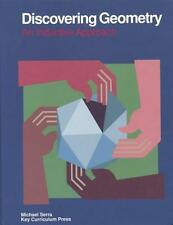 Discovering Geometry: An Inductive Approach, Michael Serra, 0913684082, Book, Ac