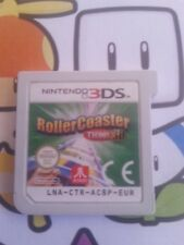 Nintendo 3DS GAMEBOY Video game ROLLERCOASTER TYCOON 3D FREE POSTAGE