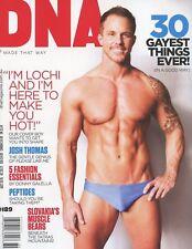 DNA Magazine #189 gay men BRAD BELK LOCHI HORNER