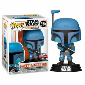 Funko POP The Mandalorian Death Watch Two Stripes Star Wars Special Edition