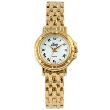 Swiss Edition Women's Gold Round Stainless Steel Quartz Watch
