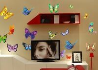 Art Vinyl Quote DIY Wall Sticker Decal Mural Room Decor butterfly Removable HOME