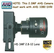 """Sunvision 2.0Mp Ahd 1080p 1/3"""" Sony 2.8-12mm Manual Focus Zoom Spy Camera (45A)"""