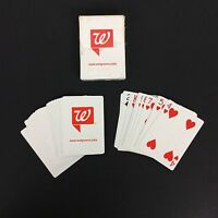 Walgreens Drugstore Jobs Playing Swap Cards Advertising Red White