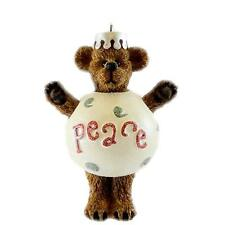 "Boyds Bears by Enesco ""Peace Bear"" Ornament Nib Free Shipping #4016674"