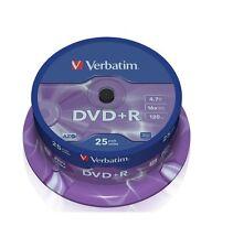 50 DVD +R Verbatim 16x 4.7 gb vergini vuoti AZO STOCK