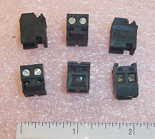 QTY (100) RP020037 RIA CONNECT 2 POSITION PLUGGABLE TERMINAL BLOCKS 5mm PITCH
