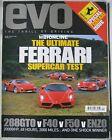 EVO 02/2004 featuring Ferrari 288 GTO, F40,F50, Enzo, BMW, Maserati, Peugeot