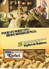 PUBLICITE  1979   BAHLSEN  biscuits LES KIPFERL